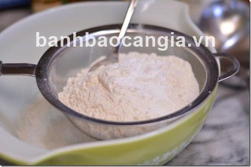 bánh bao Cần Gia : bánh bông lan Caramel ngon khó tả
